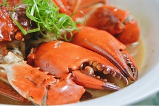 Crab - Star of seafood at Yu Chu Chinese Restaurant