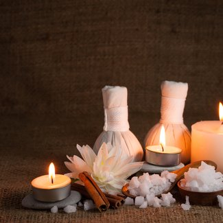 Cinnamon powder and sea salt scrub Treatment at Spa InterContinental Saigon