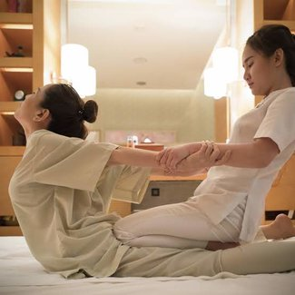 Yoga Massage at Spa InterContinental