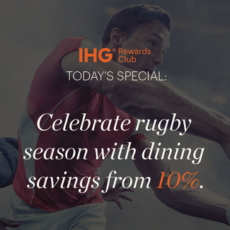 Today's Special at Purple Jade Bar - Rugby Season